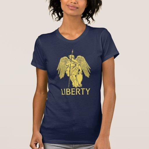 Camiseta gráfica de señora Liberty (Libertas)
