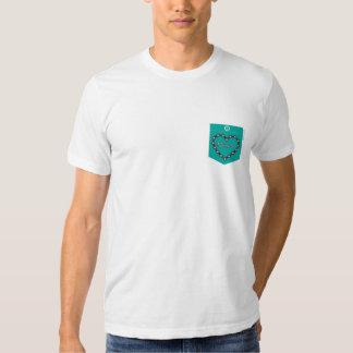 Camiseta gráfica del bolsillo del portavoz remeras
