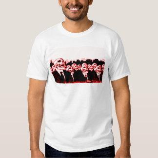 Camiseta gráfica del nuevo orden mundial polera