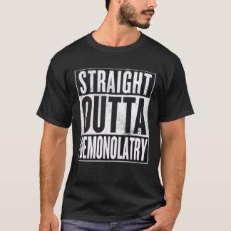 Camiseta gráfica oculta recta de Outta Demonolatry