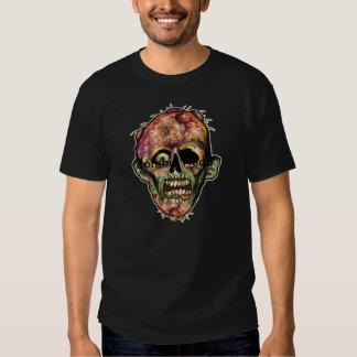 Camiseta gráfica principal del zombi remeras