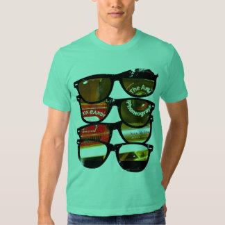Camiseta gráfica urbana poleras