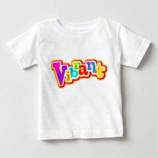 Camiseta gráfica vibrante del niño camisas