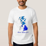 Camiseta Gran Bretaña 2014 Playera