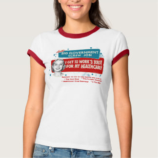Camiseta grande de la atención sanitaria del playeras