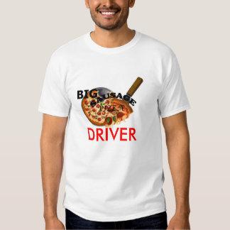 Camiseta GRANDE de la entrega de la pizza de Playeras