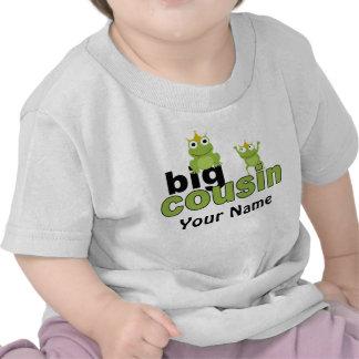 Camiseta grande de la rana del primo