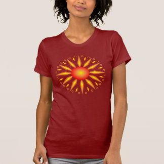 Camiseta grande de Sun del solsticio de verano
