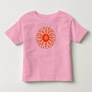 Camiseta grande de Sun del solsticio de verano Polera