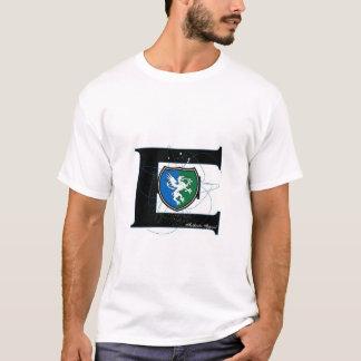 Camiseta grande del escudo del BCE E