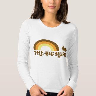 Camiseta grande del longsleeve del conejito del remera