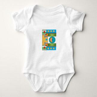 Camiseta grande del niño de E Mameluco De Bebé