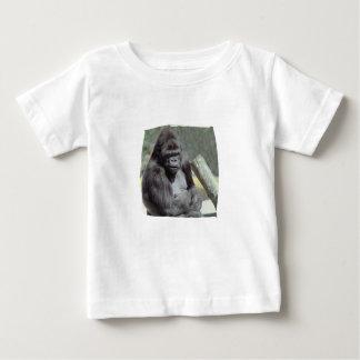 Camiseta grande del niño del gorila de Gunns Playera