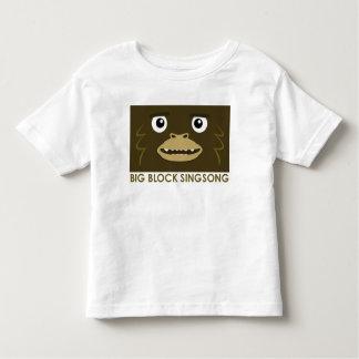 Camiseta grande del niño del pie de BBSS Playera