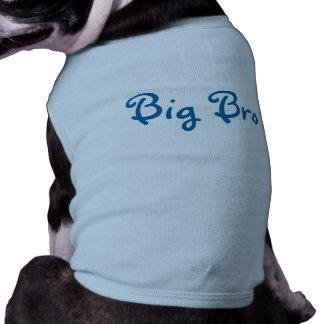 Camiseta grande del perro de Bro- Playera Sin Mangas Para Perro