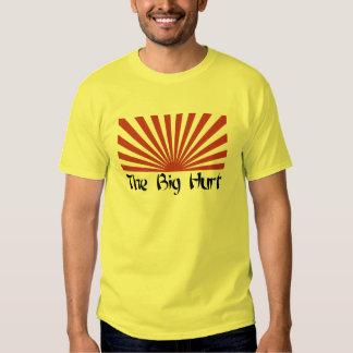 Camiseta GRANDE del SOL del DAÑO Remeras