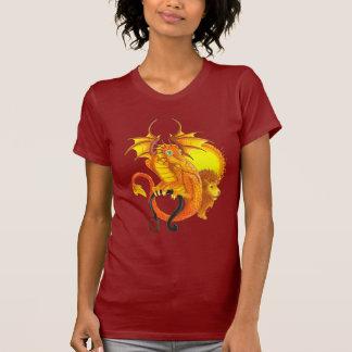 Camiseta grande del zodiaco del ojo del dragón de