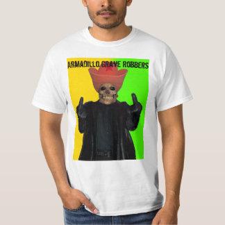 Camiseta grave de los ladrones del armadillo de