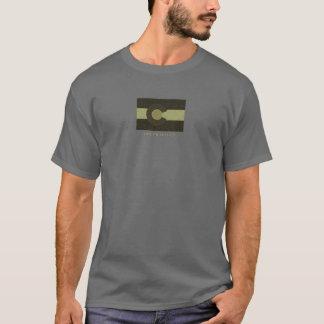 Camiseta gris de Colorado de la quebrada de Galt