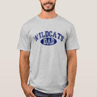 Camiseta gris de los SS de los gatos monteses del