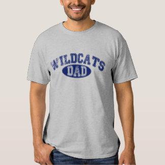 Camiseta gris de los SS de los gatos monteses del Poleras