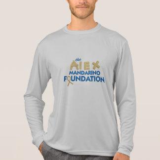 Camiseta gris del competidor del Deporte-Tek