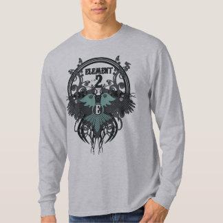 Camiseta gris del festival de cine del elemento de