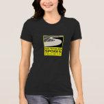 Camiseta gris del logotipo de los rayos: Mujeres