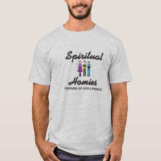 Camiseta gris espiritual de Homies