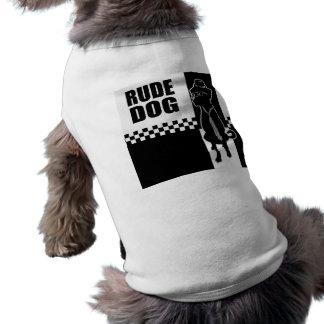 Camiseta grosera del perrito del perro camiseta de perrito