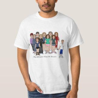 Camiseta hacia el oeste de Hos y de Scott Playera