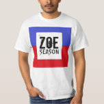 Camiseta haitiana de la estación de Zoe de la Remera