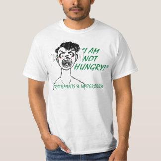 Camiseta HAMBRIENTA del valor Playeras