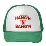 CAMISETA HANG-BANG GORRA