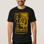 Camiseta: Harimau Malaya Playeras