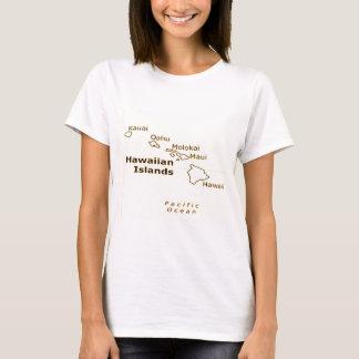 Camiseta hawaiana de las señoras