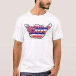Camiseta hawaiana de los individuos de la cadena