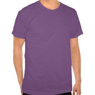 Camiseta hecha americana del poder púrpura