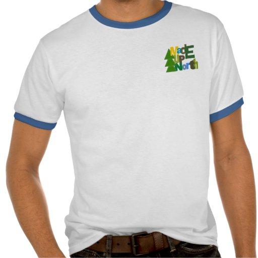 Camiseta hecha de UpNorth