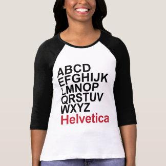 Camiseta Helvética - modificada para requisitos Polera
