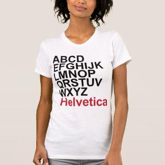 Camiseta Helvética - modificada para requisitos Remera