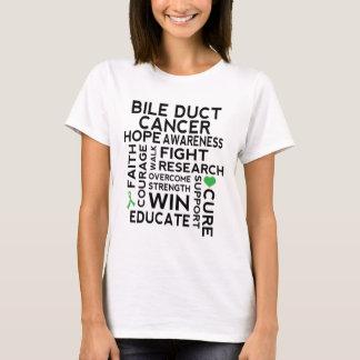 Camiseta hepática del paseo del cáncer