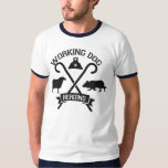 Camiseta Herding Working Dog Border Collie