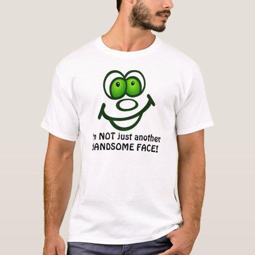 Camiseta hermosa de la cara