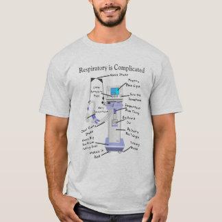 Camiseta hilarante del terapeuta respiratorio