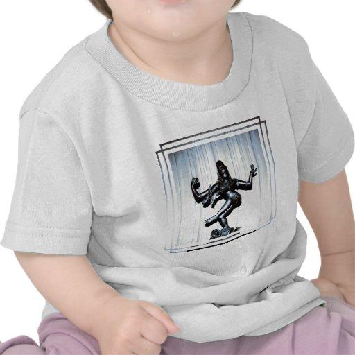 Camiseta hindú del bebé de Shiva