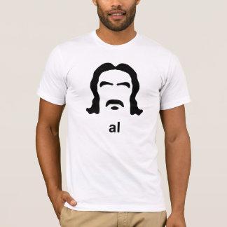 Camiseta hirsuta negra de Swearengen del Al