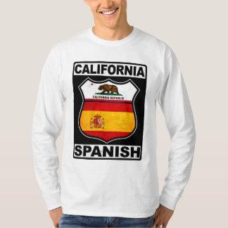 Camiseta hispanoamericana de California