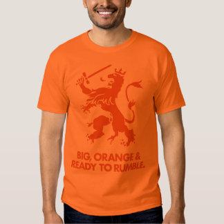 Camiseta holandesa de la fan de Holanda Nederland Polera