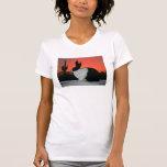 Camiseta holandesa de la puesta del sol